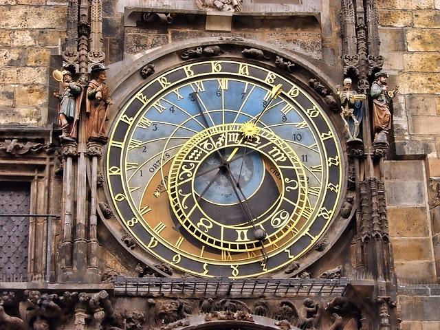 השעון האסטרונומי בעיר העתיקה של פראג