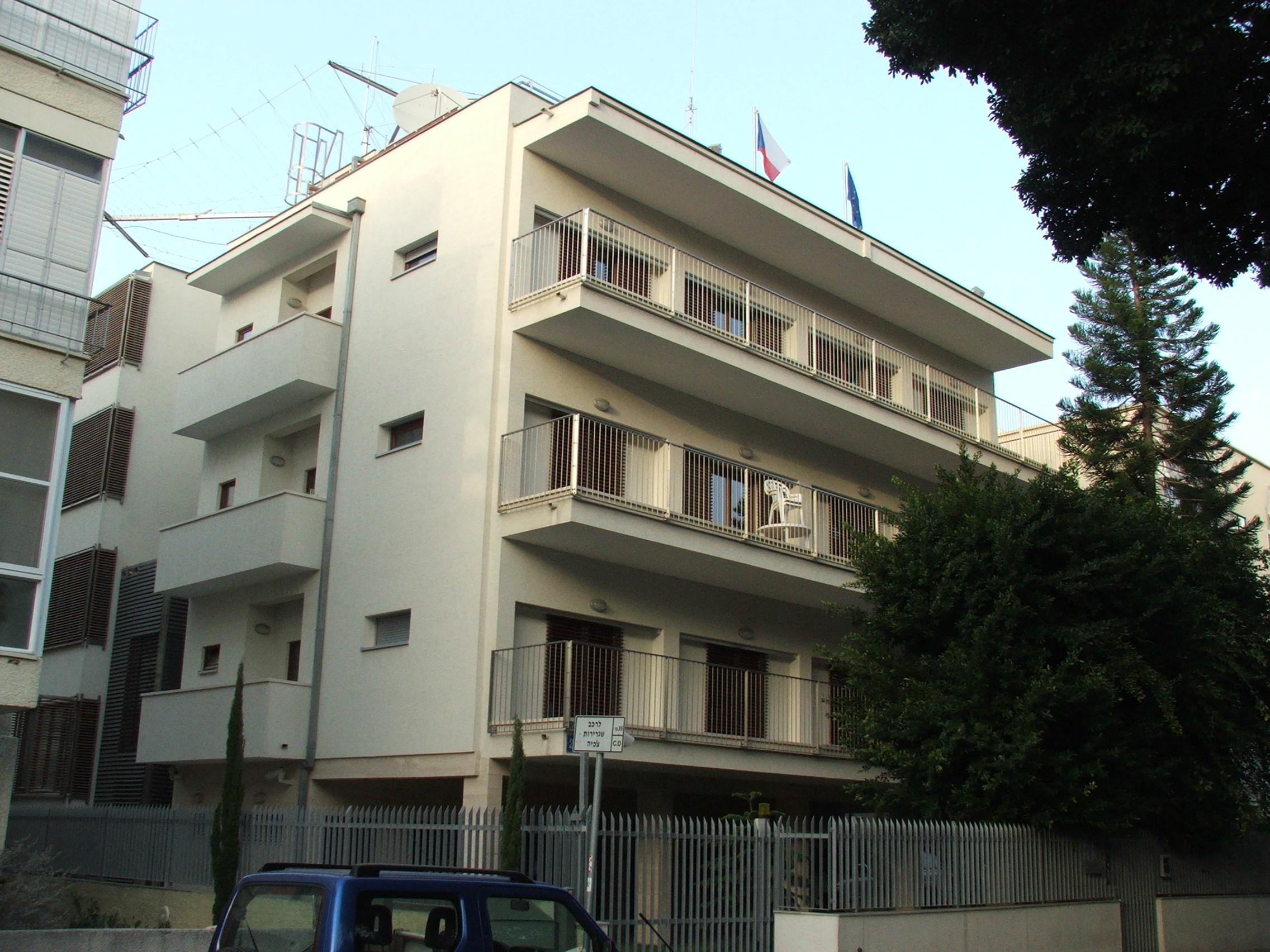שגרירות צ'כיה בתל אביב