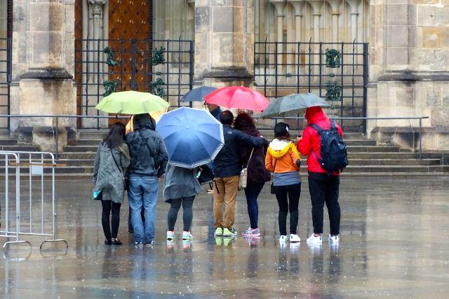 נפלתם על יום גשום בפראג?