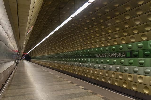תחנת המטרו Malostranská