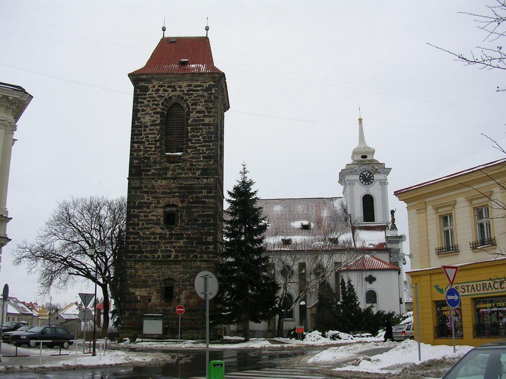 כיכר Arnošta בצ'סקי ברוד