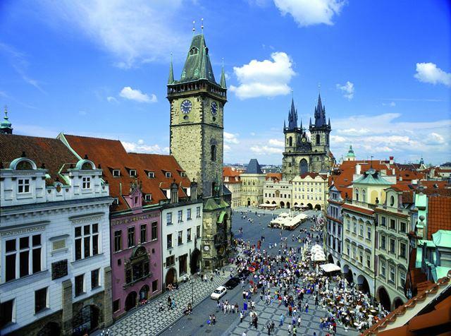 פראג היא המרכז של צ'כיה כולה