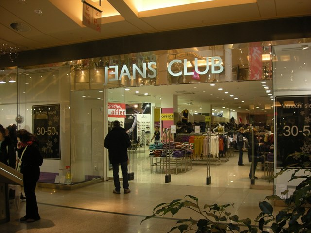 אחת מ-180 החנויות בקניון פלדיום