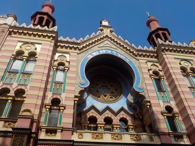 חזית בית הכנסת הירושלמי בפראג