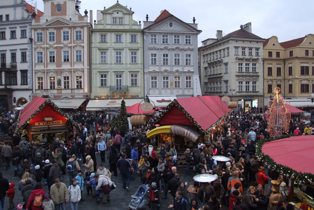 פראג - עיר של שוק חופשי משגשג