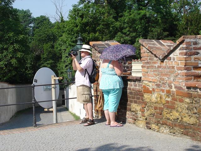 תיירים בפראג 1